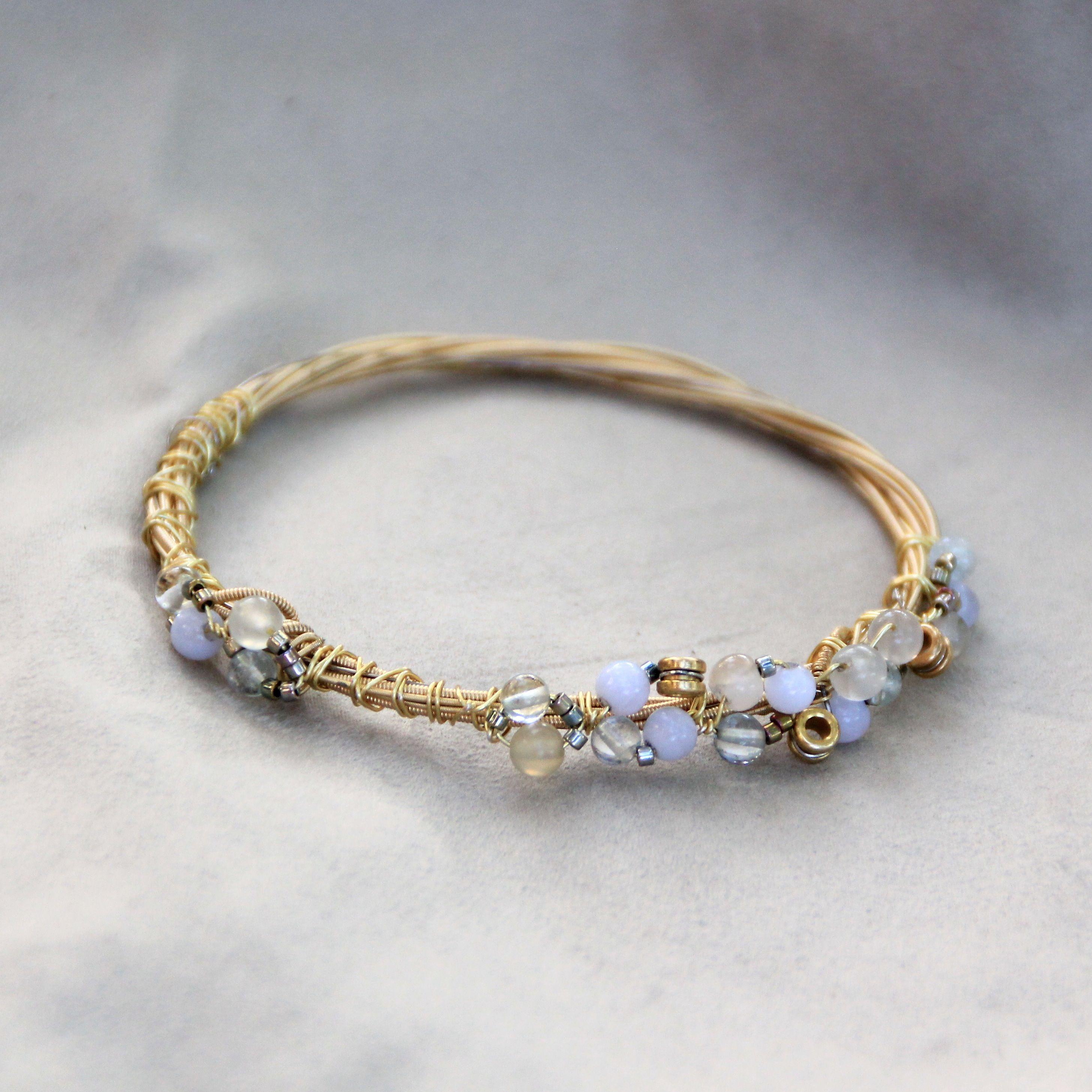 how to make a guitar string bracelet