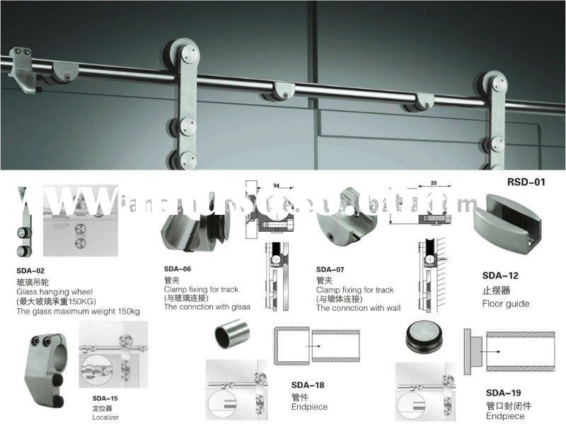 Sliding Door Components Accessories : Sliding glass doors for mirror closet