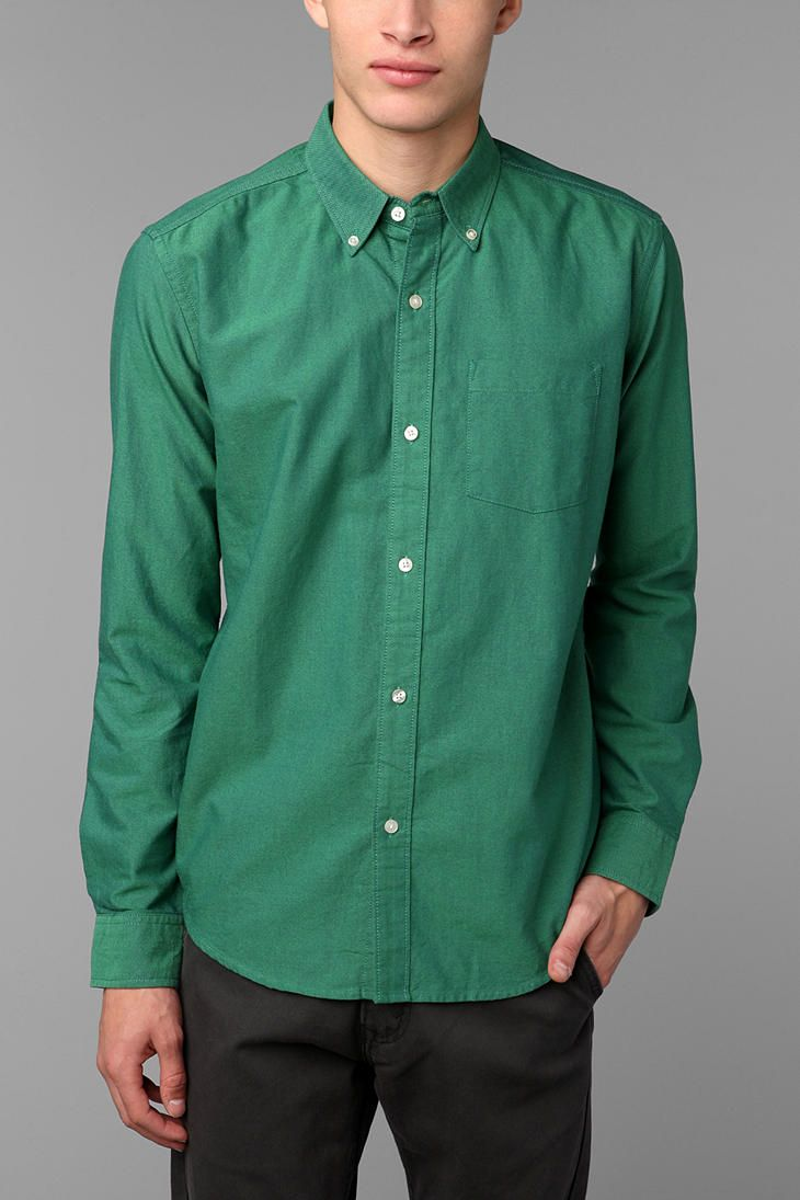 Hawkings McGill Pinpoint Oxford Button-Down Shirt