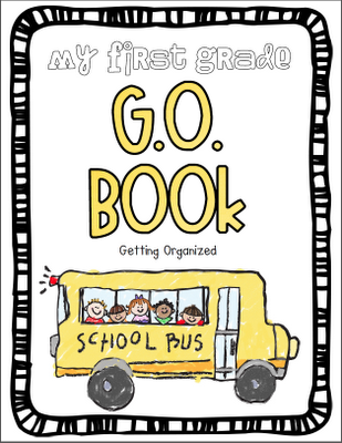 A G.O. or Get Organized binder for first grade.  Each student would get one with lots of dividers.