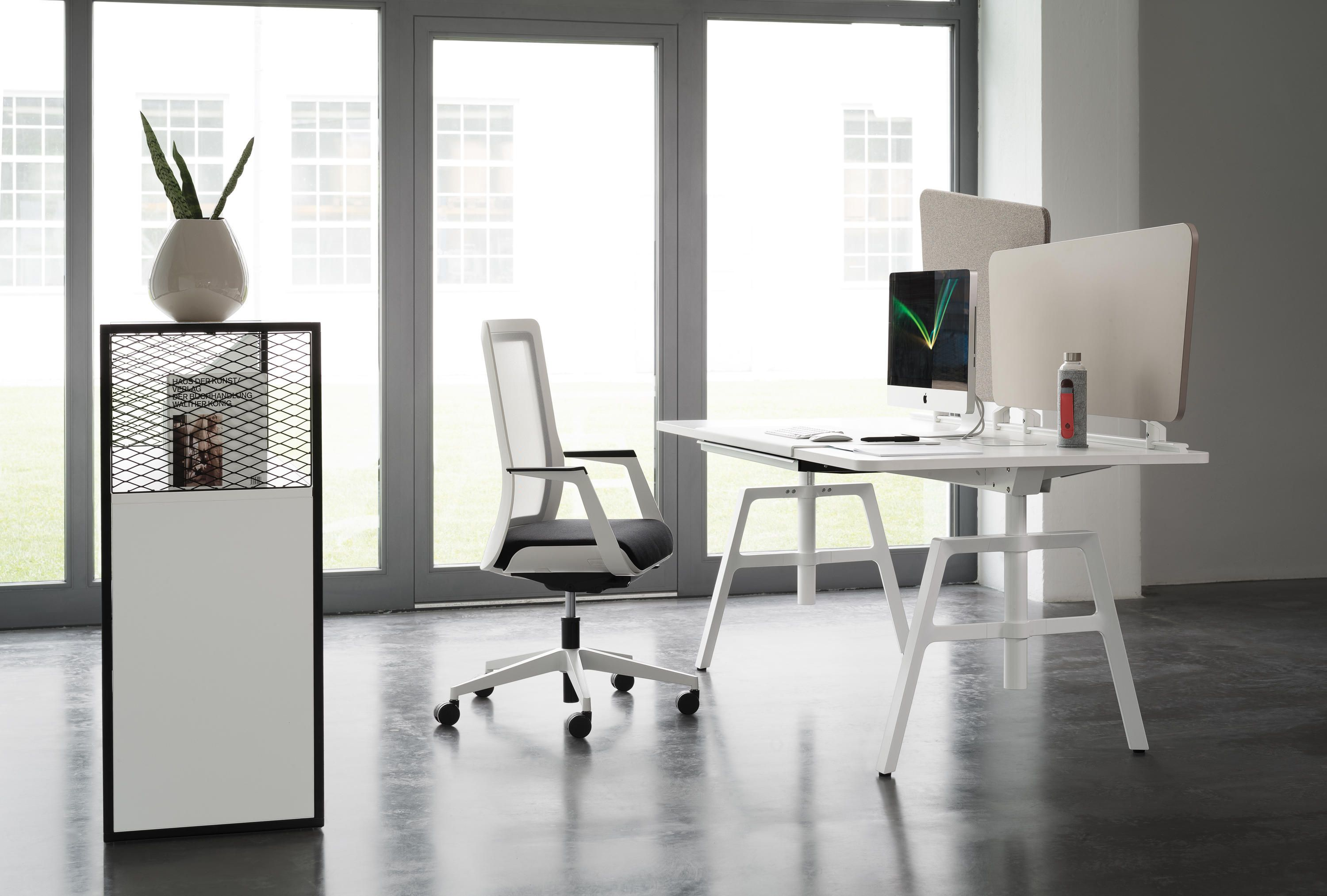 Wiesner Hager Büromöbel Etio Single Workstation By Neunzig For Wiesner Hager Architonic