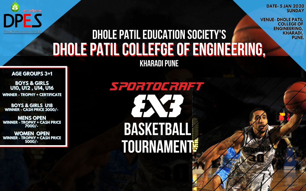 """Dhole Patil College of Engineering organizing """"SPORTOCRAFT"""