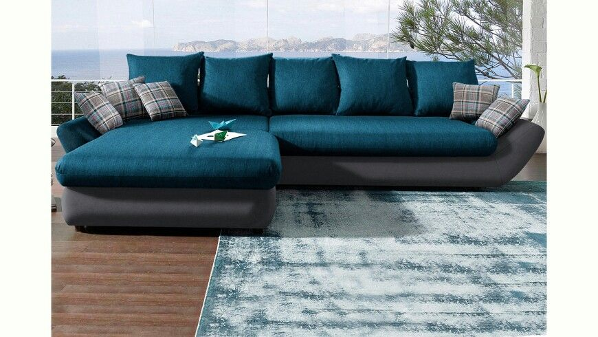 Couch Petrol Grey grau | Traumhaus Couch | Pinterest