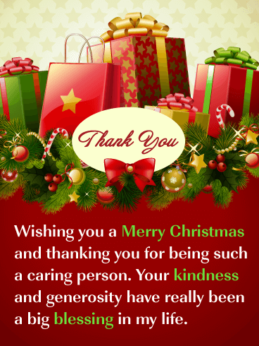 You Re So Kind Christmas Thank You Card Birthday Greeting Cards By Davia Merry Christmas Quotes Merry Christmas Quotes Wishing You A Merry Christmas Quotes Funny