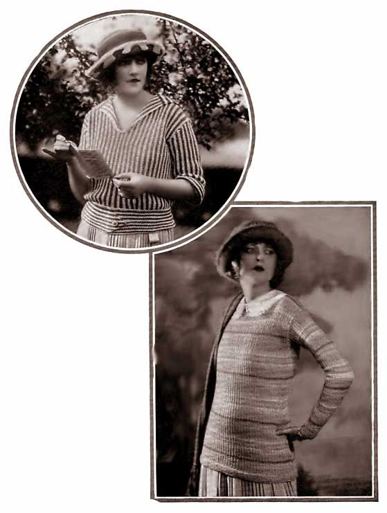 Free 1920s knit patterns: (The Stratfield and Clayton sweaters ...