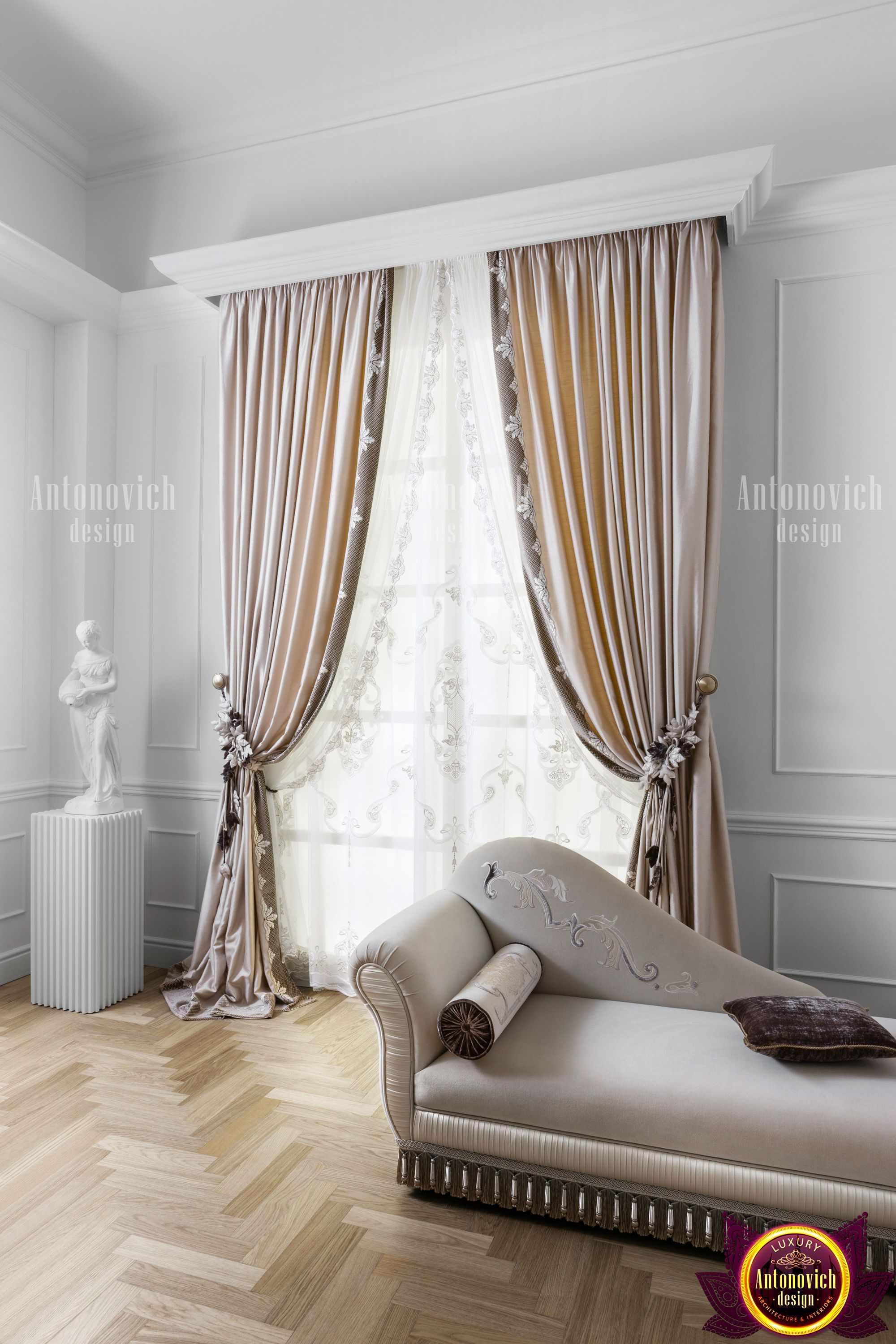 Traditional Or Original Design Of Curtains Is The Final Touch That