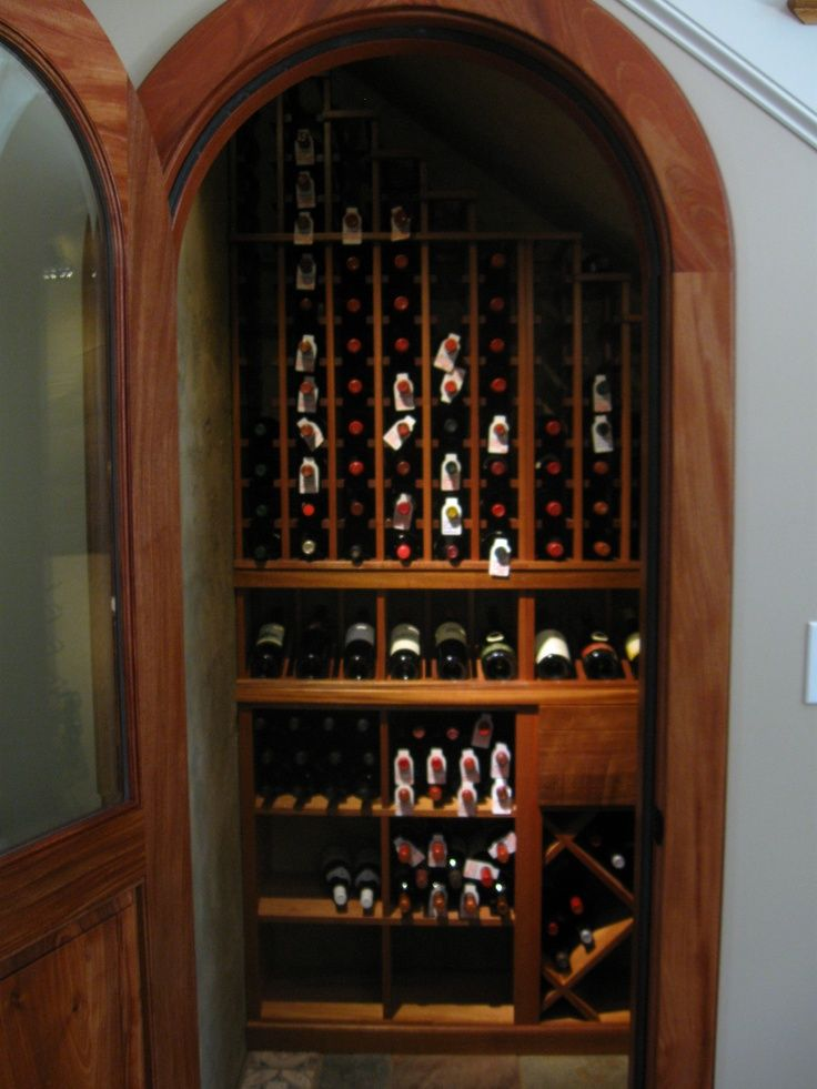 racks and cellar design by Kessick Wine Cellars - under the stairs . & racks and cellar design by Kessick Wine Cellars - under the stairs ...