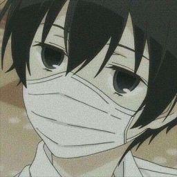 Aesthetic Anime Icons - Black-haired Anime Boys