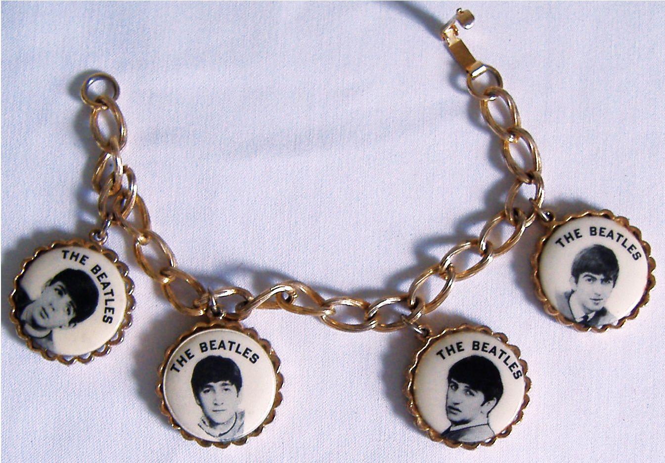 08c3fc283 The Beatles Charm Bracelet | Museum of Beatles Memorabilia & Beatles ...