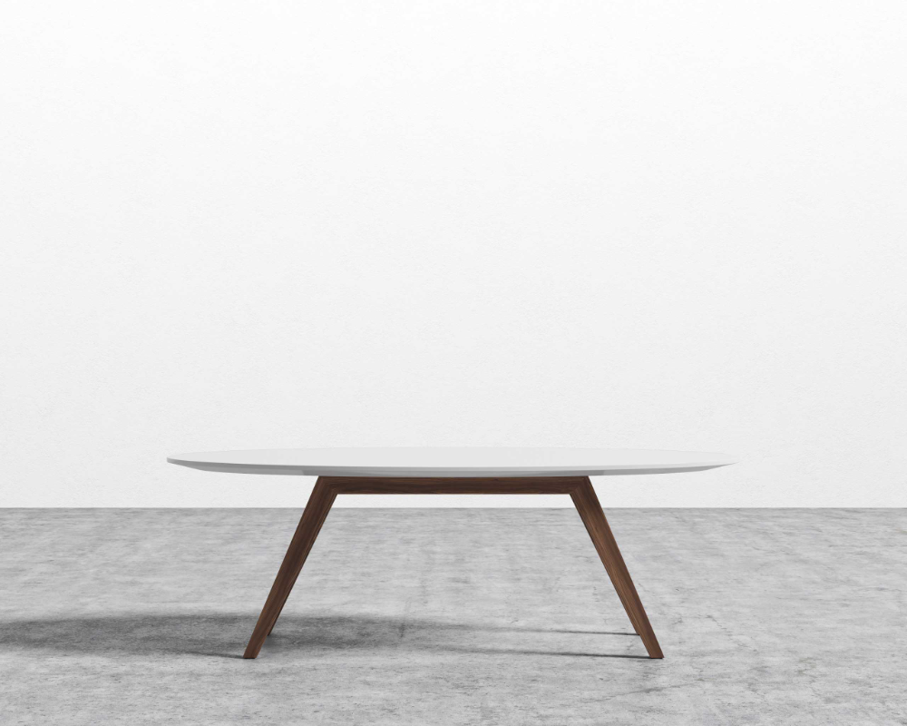 Dolf Oval Coffee Table In 2021 Coffee Table Oval Coffee Tables Mid Century Coffee Table [ 800 x 1000 Pixel ]