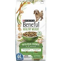 Purina Beneful Healthy Weight With Real Chicken Dog Food 44 Lbs
