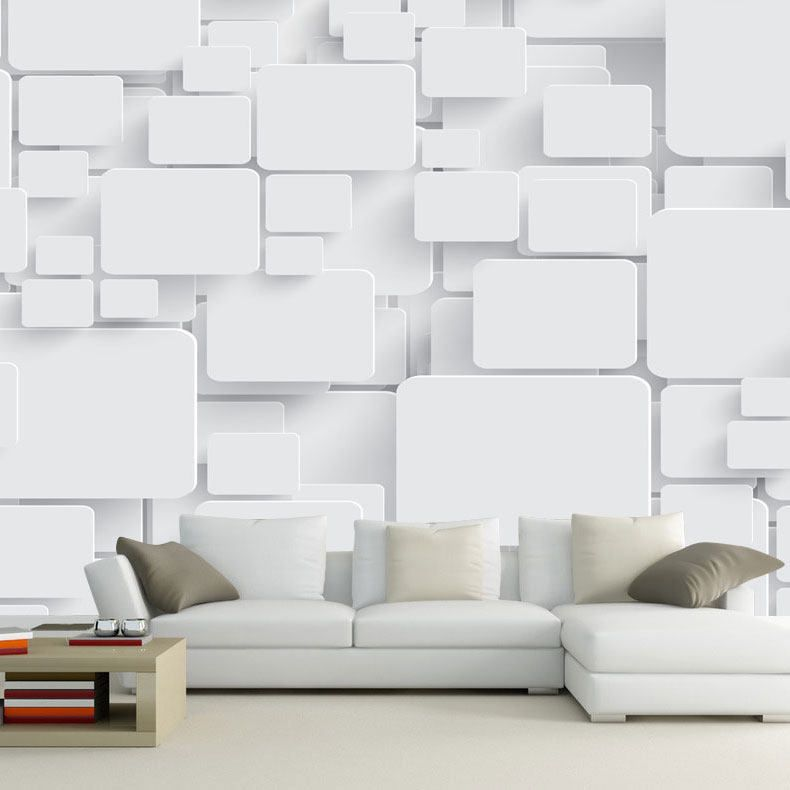 Wallpaper Mural Cubes Abstract 3d Wall Paper Non Woven For Living Room Tv Background Wall Decor Pa Living Room Wall Designs Classic Interior Design Room Design