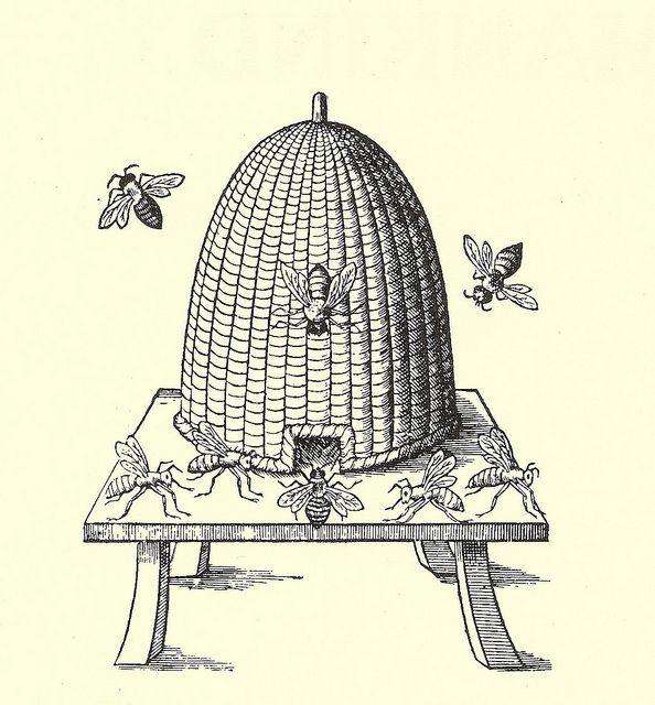 Bee Skep Image
