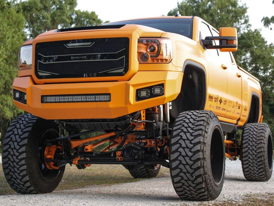 Orange Dream Travis Dodd S 2016 Gmc Sierra 2500hd Denali Gmc