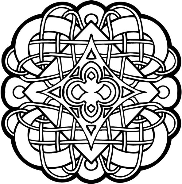 celtic adult coloring pages - photo#30