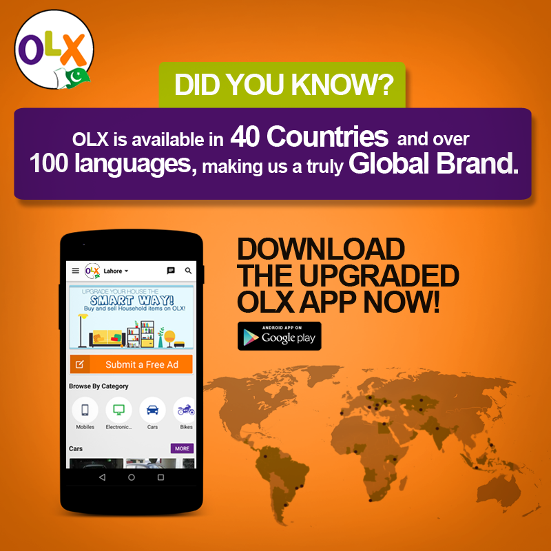Pin by OLX Pakistan on OLX Mobile App | Mobile app, App