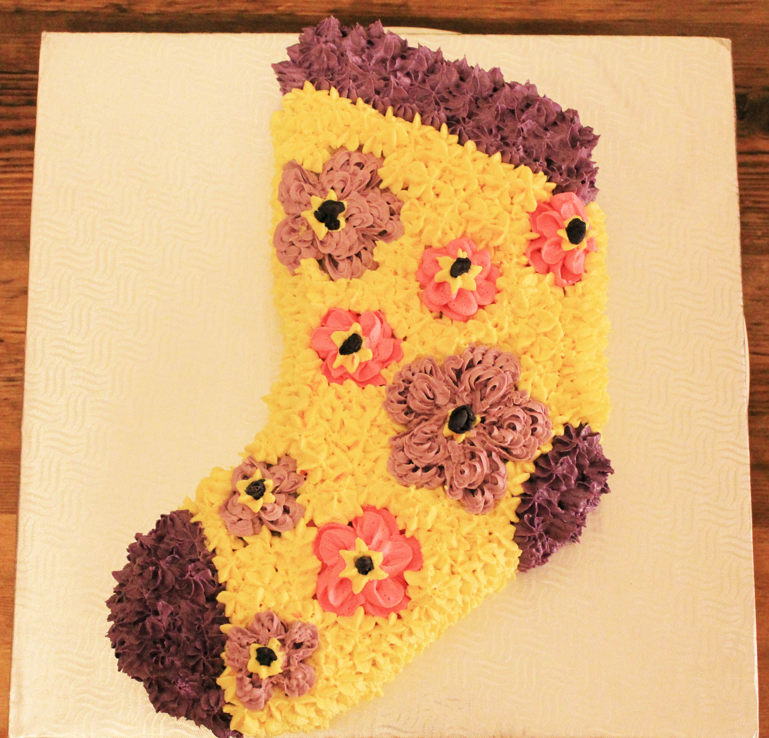 Sock Party Cake