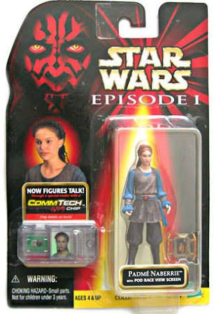 Hasbro Inc Star Wars: Episode 1 Padme Naberrie Action Figure