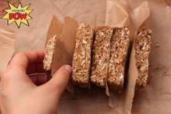 Coffee & Whey Protein Bars #wheyproteinrecipes Sugar-Free & High-Protein Macarons #wheyproteinrecipes