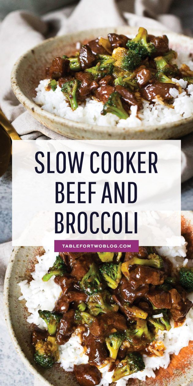 Slow cooker beef and broccoli is easy to make at home and such a warm comforting meal to have in a big bowl of rice! Much better than calling take-out; simply whip out your slow cooker and make this beef and broccoli at home! #slowcooker #beefandbroccoli #takeout #crockpot #beefandbroccoli