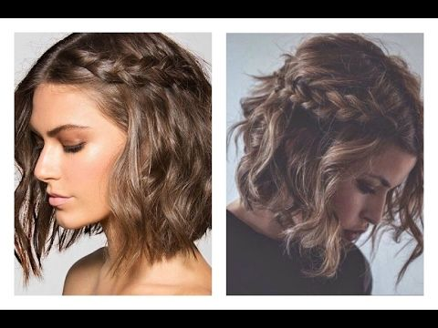 5 peinados fáciles para cabello corto | 5 hairstyles for short