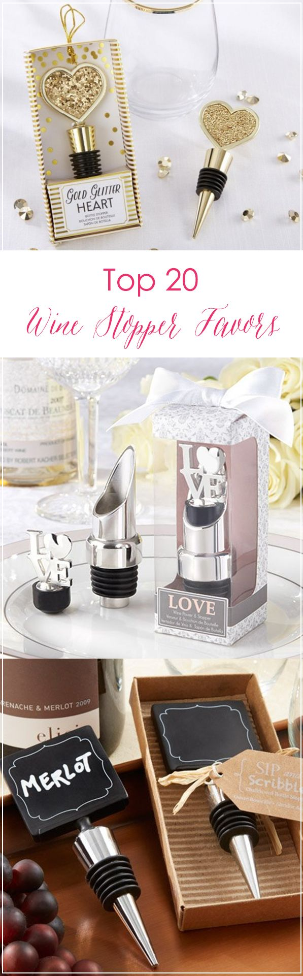 Find the best wine stoppers for your wedding favors! From ...