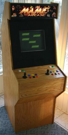Mame arcade cabinet do it yourself projects pinterest arcade video games mame arcade cabinet do it yourself solutioingenieria Gallery