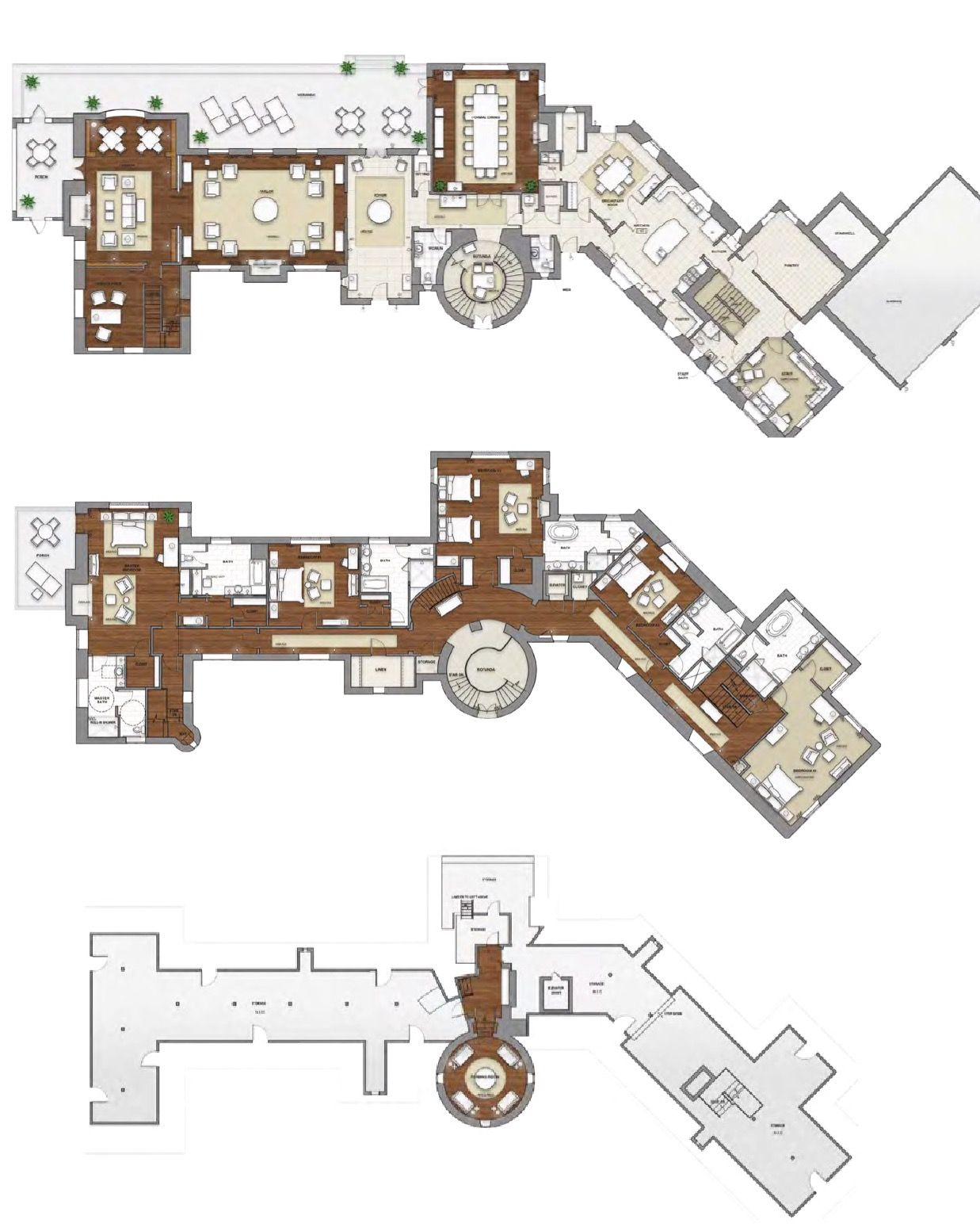The Broadmoor Estate House 12 000 Square Foot House Plans Architectural Design House Plans Home Design Plans