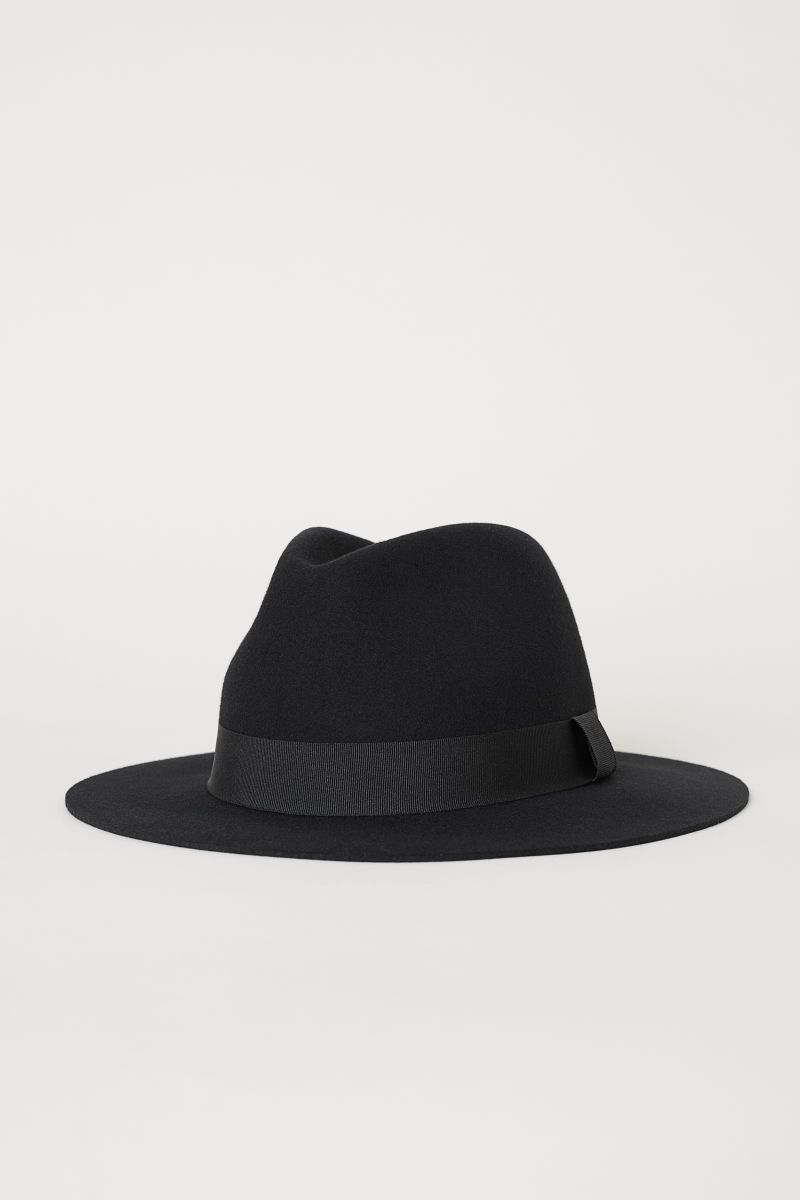 Felt hat made of wool  7ee5da37900