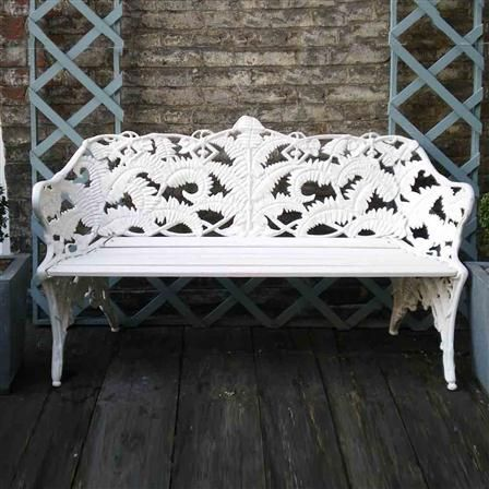 Chairworks Coalbrookedale Bench - White