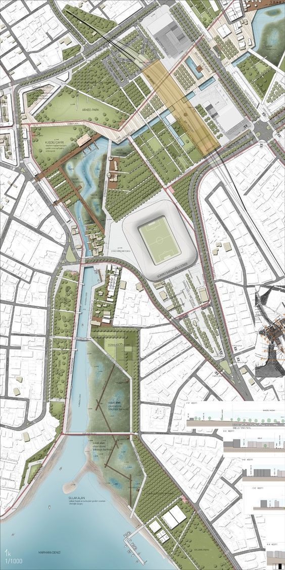 Beautiful Landscape Architecture Plan trabajos prácticos   urban design, site plans and master plan