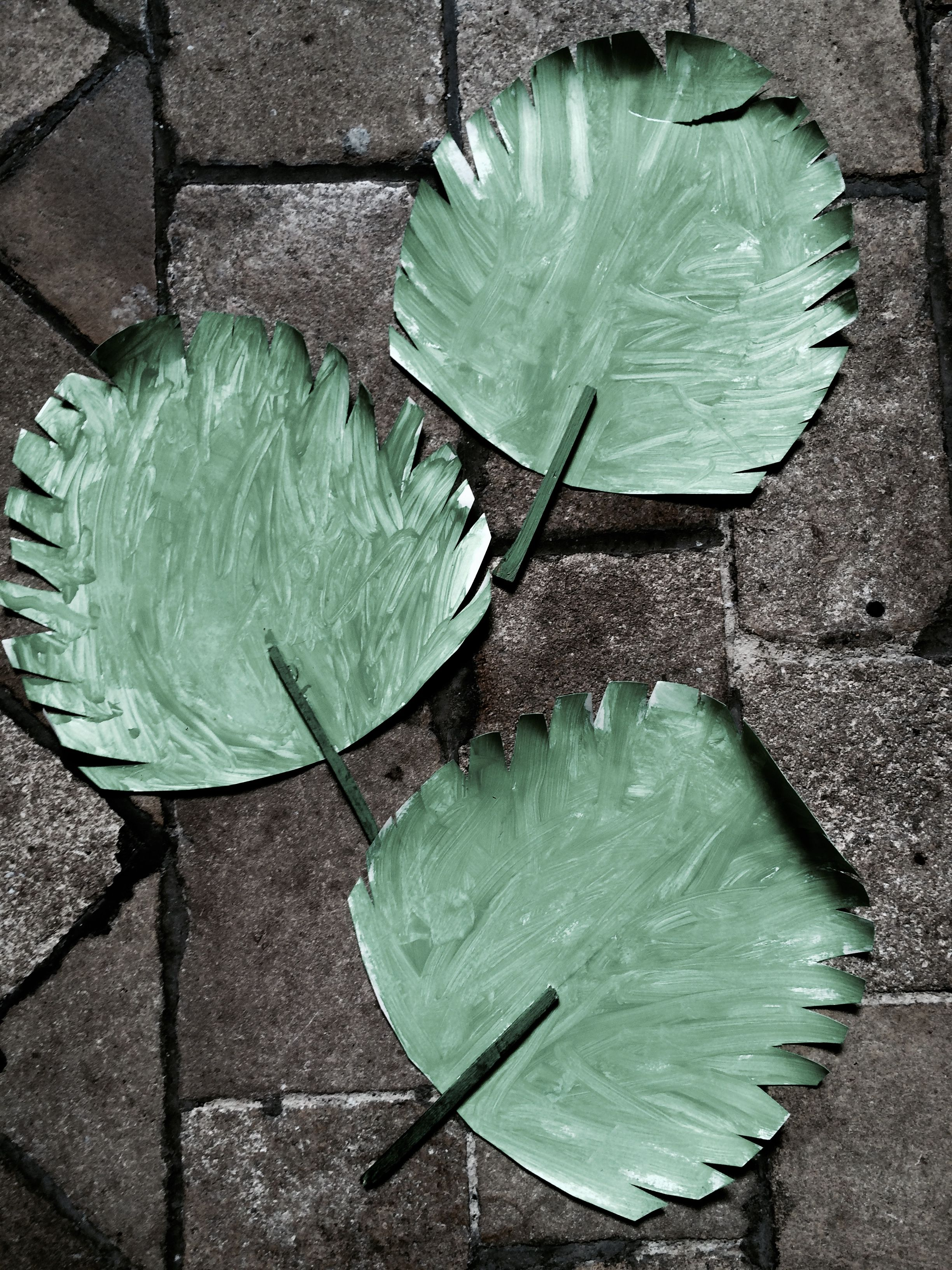 Sunday School Crafts   Paper palm leaves to teach the \'triumphal ...