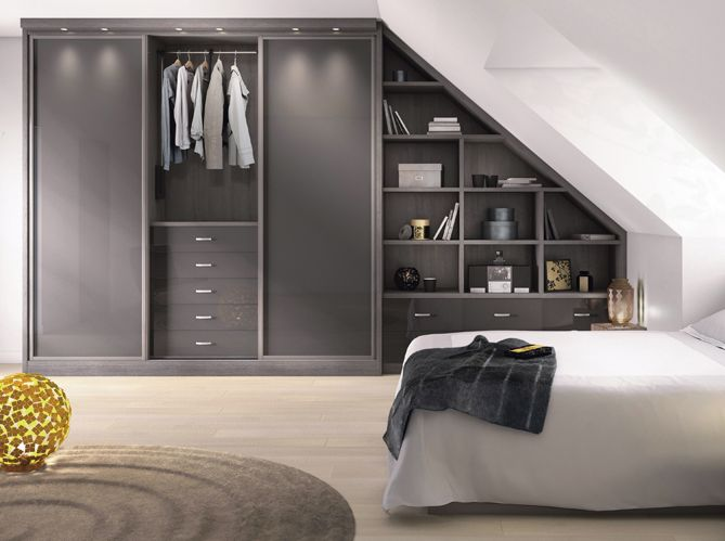 cr er un dressing quand on n 39 a pas la place elle d coration bedrooms lofts and attic. Black Bedroom Furniture Sets. Home Design Ideas