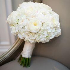 Hydrangea Bouquet Wedding Bouquets Bridal Ivory