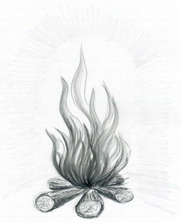 100 Tutorials To Teach You How To Draw Drawing Tutorials For Beginners Flower Drawing Fire Drawing