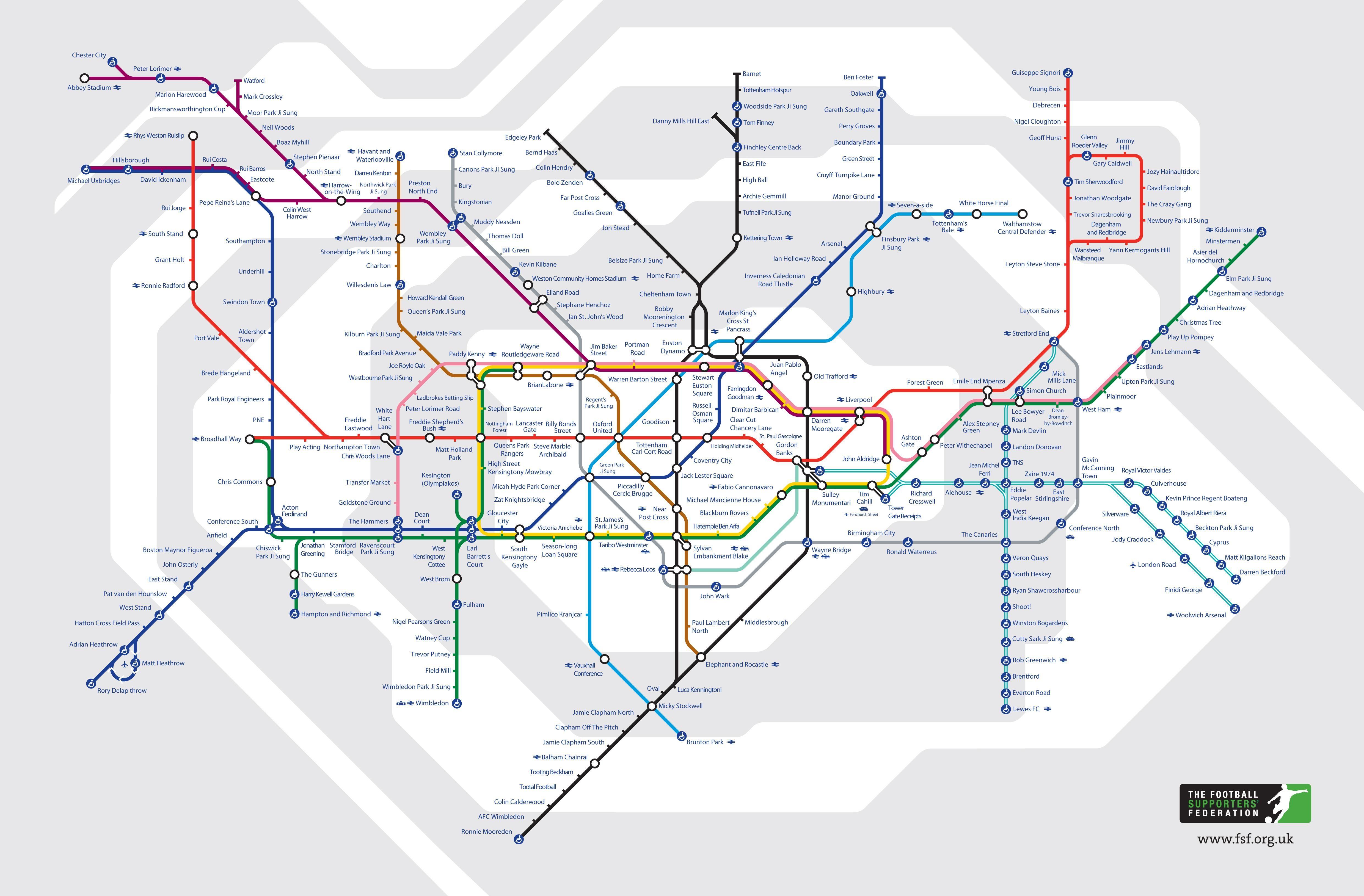London underground 14 alternative tube maps london underground london underground 14 alternative tube maps gumiabroncs Choice Image