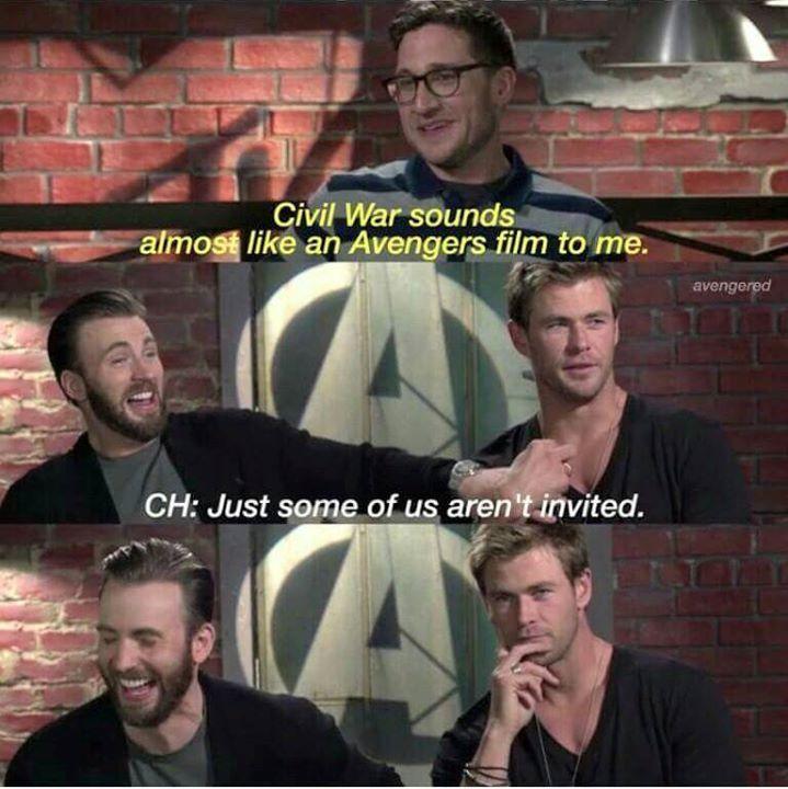 The Avengers / Civil War interview