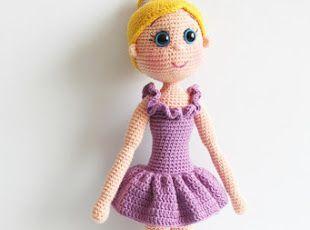 Amigurumi Doll Free Pattern : Amigurumi ballerina doll free pattern crochet dolls