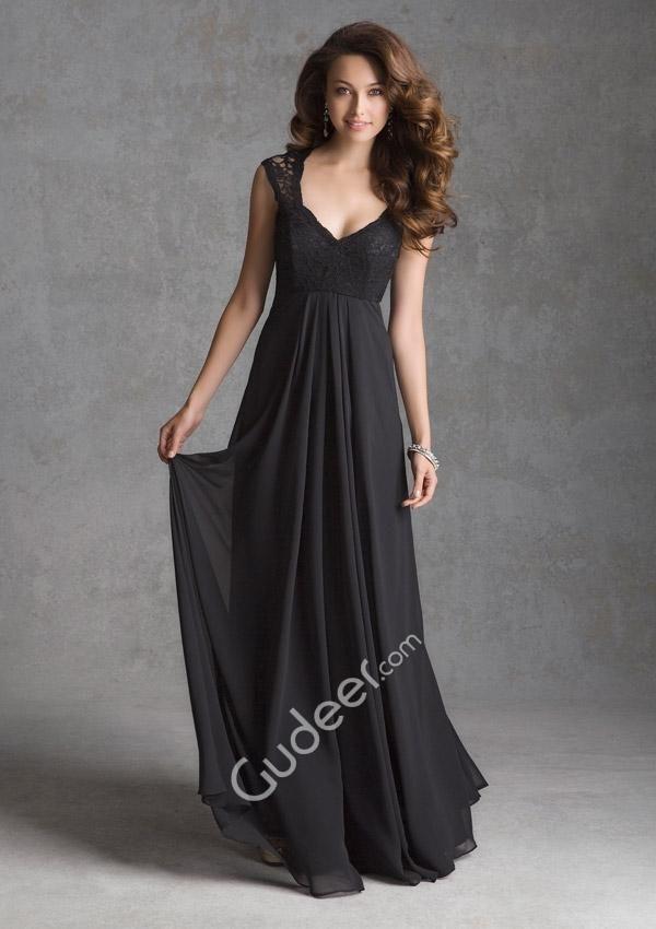 776c60fda4d Black Long Sleeve Bridesmaid Dresses