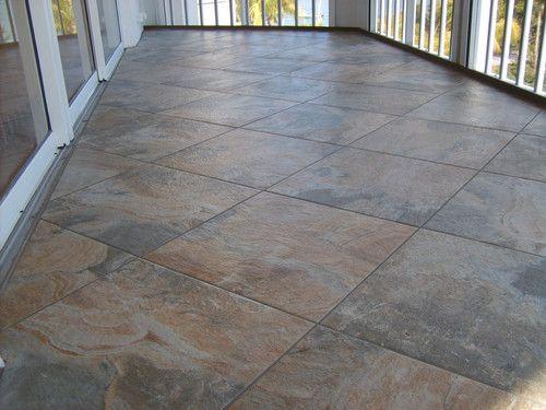 Zirconio tile lanai paulocesarandrad lanai outdoor for Lanai flooring options