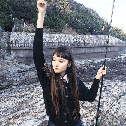 Yuka Mannami Yuka Mannami In 2019 Hair Fashion Long Hair Styles
