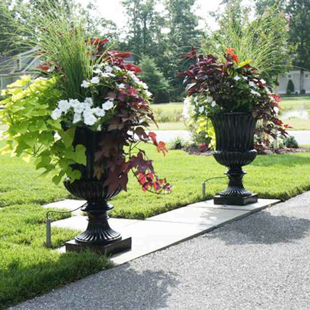 Capital Garden Fluted Urns