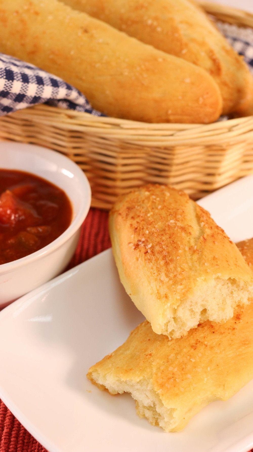 Copycat Olive Garden Breadsticks Recipe Food Recipes Olive
