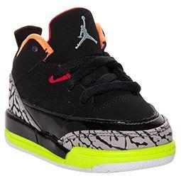 1bcda755eb7d69 usa boys toddler jordan son of mars low basketball shoes finishline black  light armory blue volt