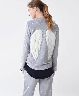 Ropa Para Estar En Casa Y Dormir De Mujer Rebajas Invierno Oysho Kids Nightwear Pajama Outfits Women Nightwear