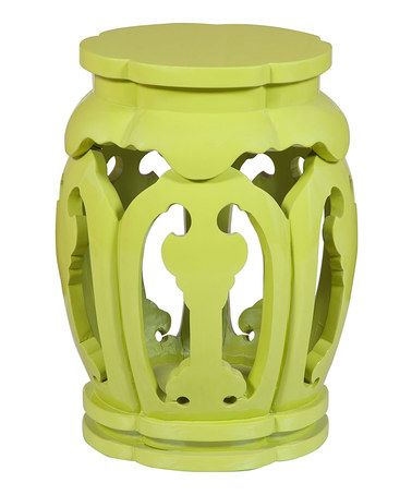 Love this Green Mulberry Drum Table on #zulily! #zulilyfinds