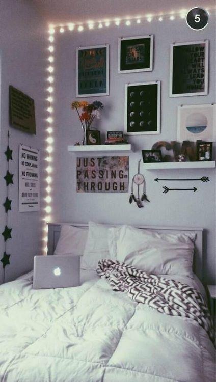 Tumblr Letto Schlafzimmer Zimmer Deko Ideen E Zimmer Madchen
