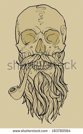 49+ Tatouage tete de mort barbu ideas