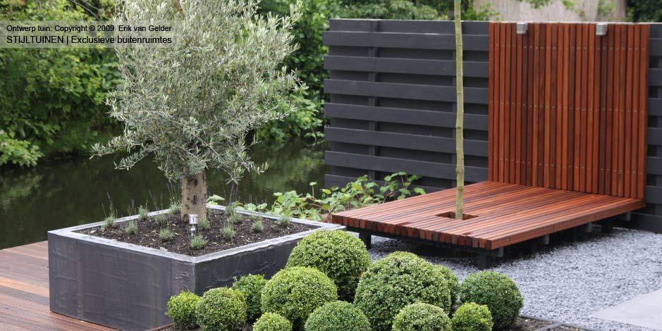 Kleine tuin ontwerpen aanleggen inrichten tuin garden pinterest interior garden - Eigentijdse landscaping ...