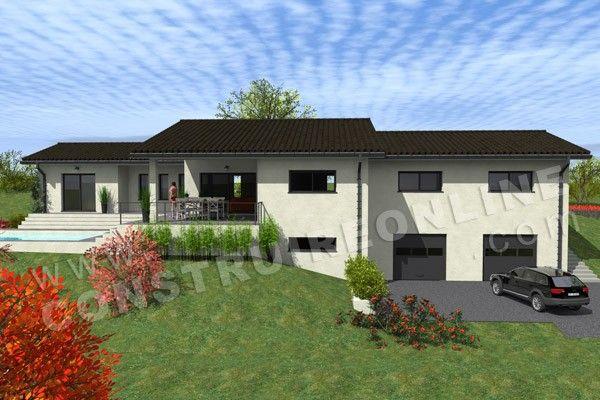 Plan Maison Individuelle Sur Sous Sol Complet Modele Glieres 10
